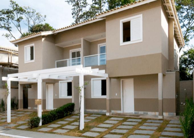 Arquitect nicos pinthor for Pintura para frente de casas